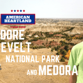 Ep. 174: Theodore Roosevelt National Park & Medora | RV travel North Dakota camping