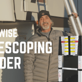 Ep. 180: WolfWise 12.5-foot Telescoping Ladder | RV accessories maintenance gear