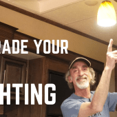 Ep.185: Upgrade Your RV Lighting | camper how-to DIY upgrading interior lights