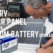 Ep. 196: RV Solar Panel Install & Lithium Battery Upgrade | DIY how-to