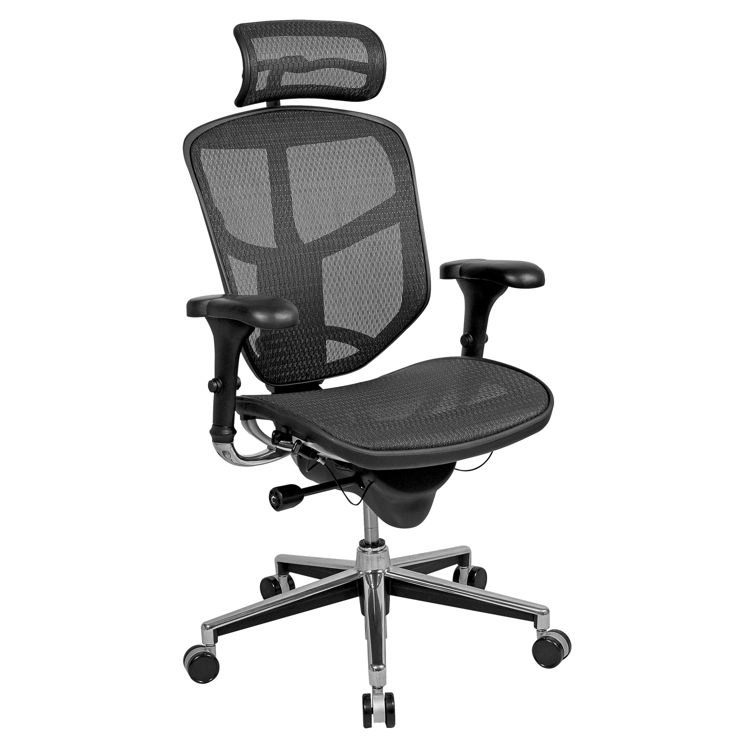 Quantum Chair Workpro Pro Quantum 9000 Series Ergonomic Mesh High Back