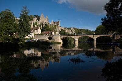 Château, vue générale de l'Anglin-K17_4029