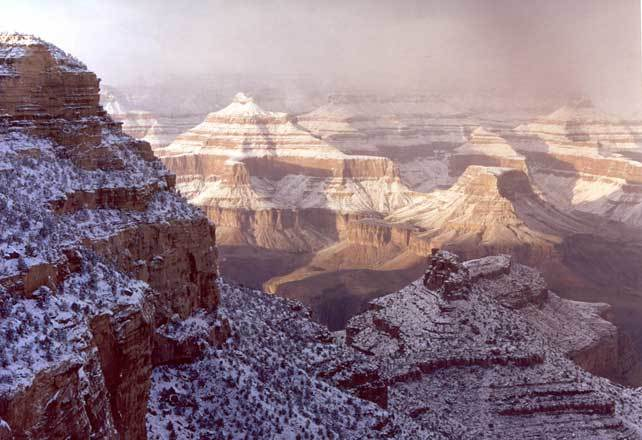 Good Afternoon 3d Wallpaper Winter Storm At The South Rim Grand Canyon Questions