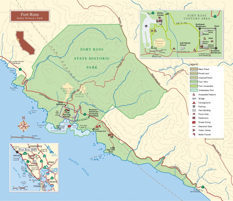 ft ross map