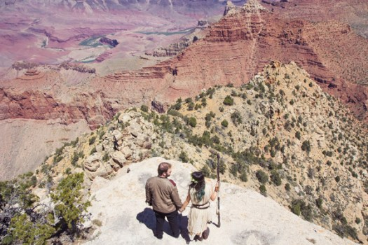 grand canyon wedding packages star wars elopement lipan point (11)