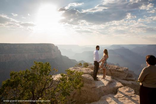 grand canyon wedding packages grandeur point