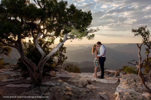 grand canyon wedding packages grandeur point sunset