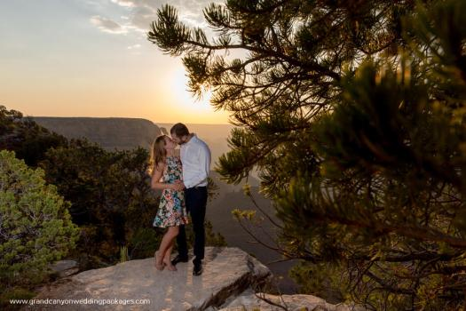 grand canyon wedding packages grandeur point sunset wedding