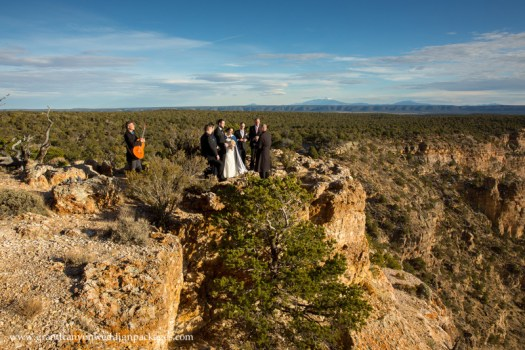 Grand Canyon Wedding Packageas Lipan Point