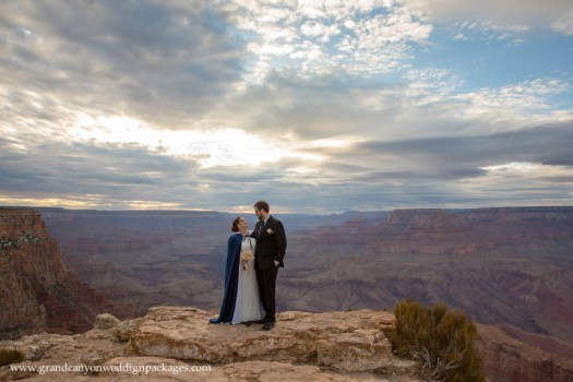 Grand Canyon Wedding Packages Spring Elopement at Lipan Point