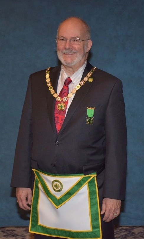 Robert B. Malwitz, KGC, Grand Chancellor of the Grand College of Rites of the United States of America 2020