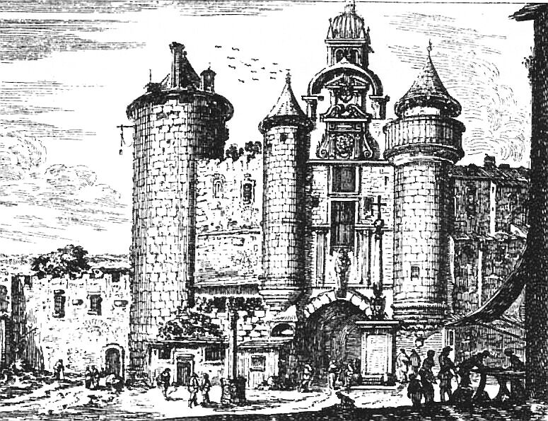 Israel Sylvestre, 1650, Grand Châtelet