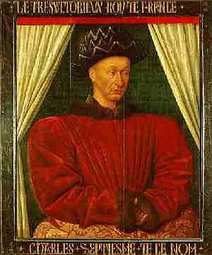 Charles VII,  ex petit roi de Bourges