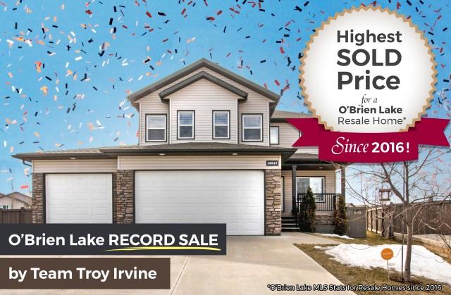 O'Brien Lake Home Sale