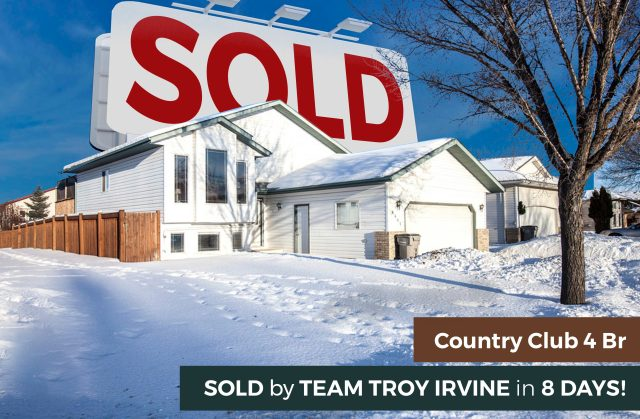 Country Club West Home SOLD in 8 DAYS