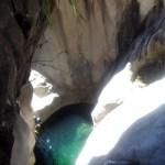 Deuxième cascade du canyon de Fleur Jaune, ile de la Réunion