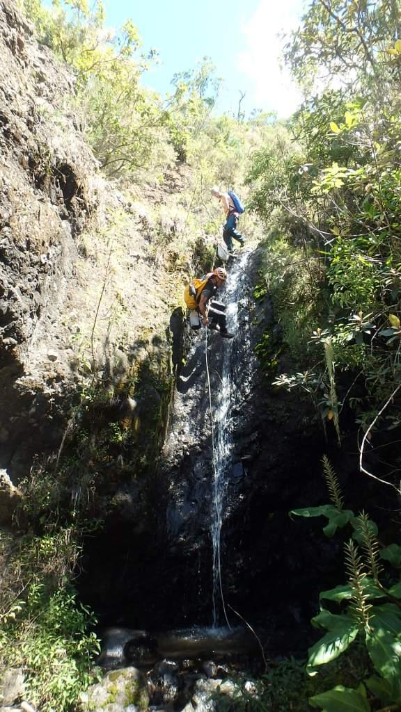 Lile de la Réunion, paradis du canyoning