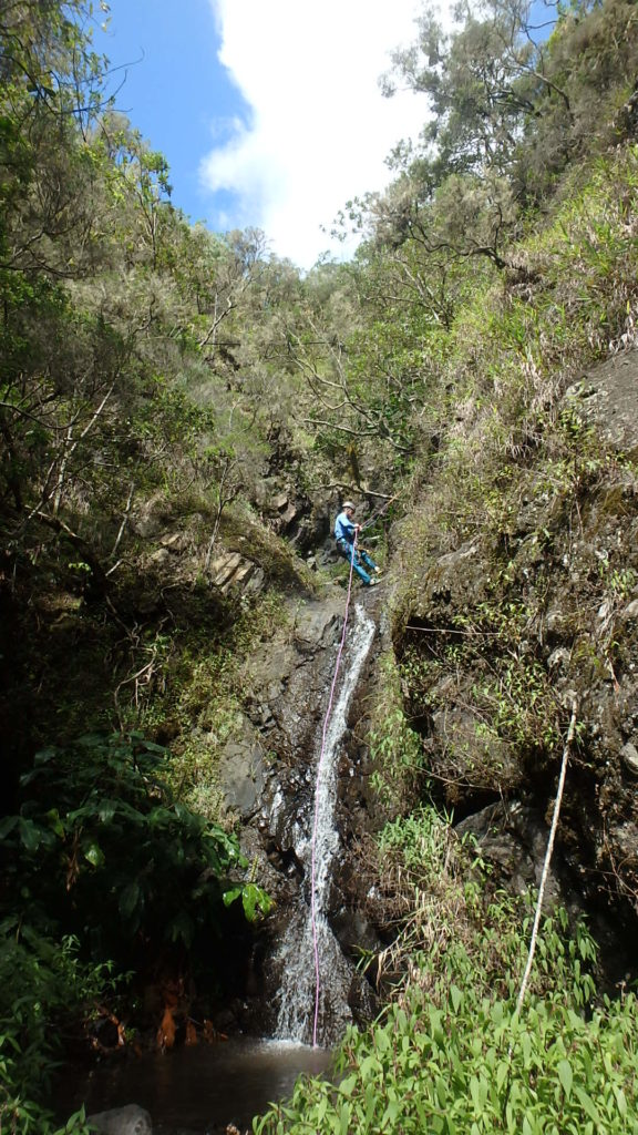 Idéal pour apprendre les bases du canyoning