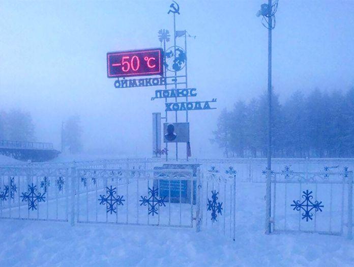 Asentamiento humano mas frio del mundo - Así es la 'odisea' de asistir a la escuela más fría del mundo