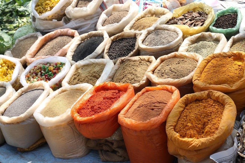 especias productos gourmet