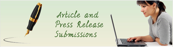 Article & Press Release Submission  Article Submission