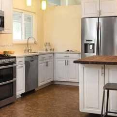 Cork Floor Kitchen Single Handle Faucet With Sprayer Flooring Durable Floors Barrie Ontario
