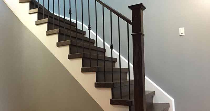 Stairs and Railing  Staircase  Treads  Wood  Barrie