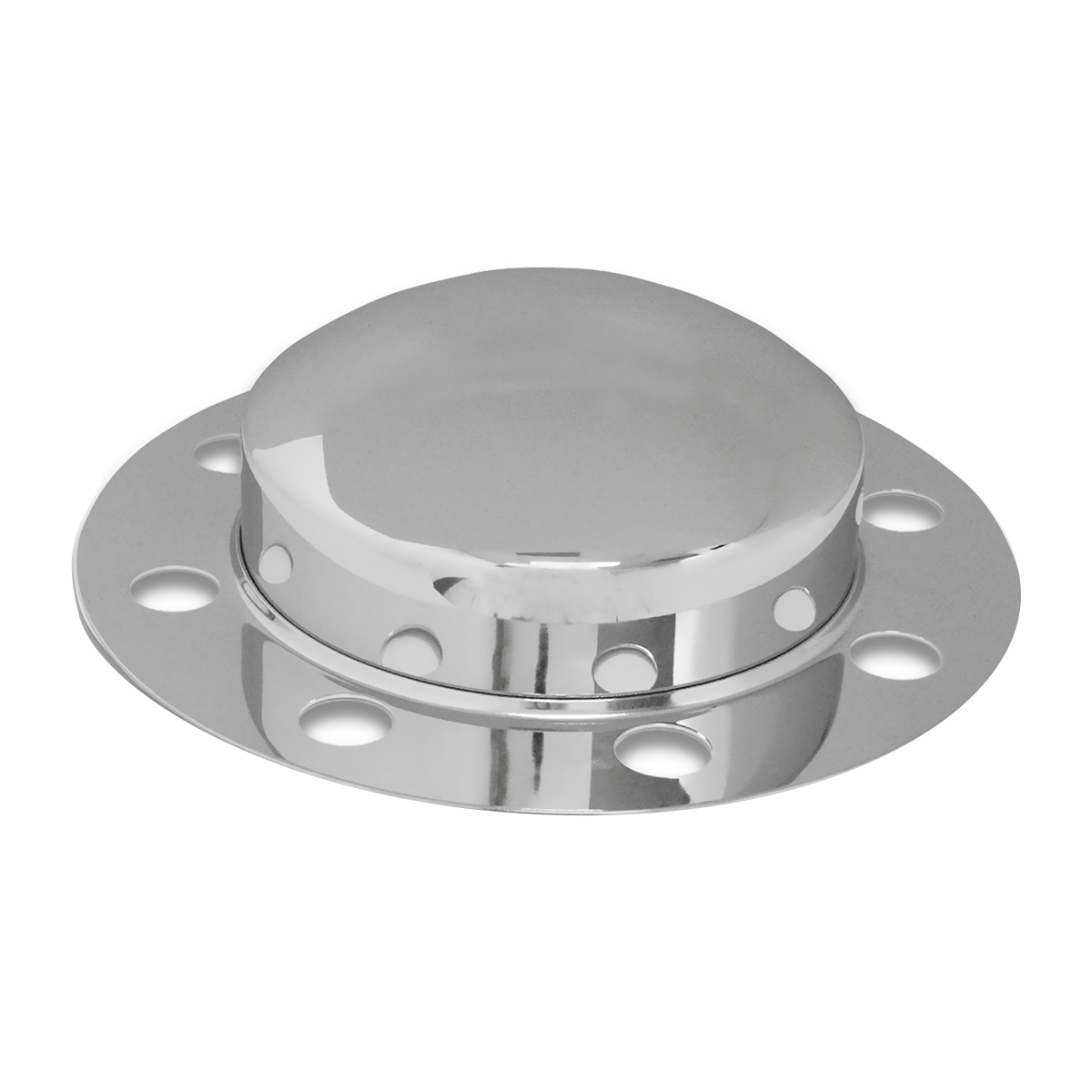 2 Piece Chrome Front Axle Cover