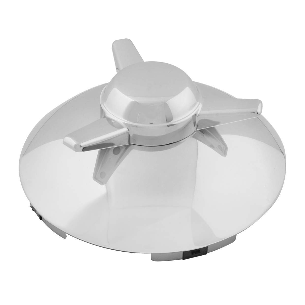 "Universal ⁷∕₁₆"" Front Hub Caps Notched with L/H Swept Wing Spinner"