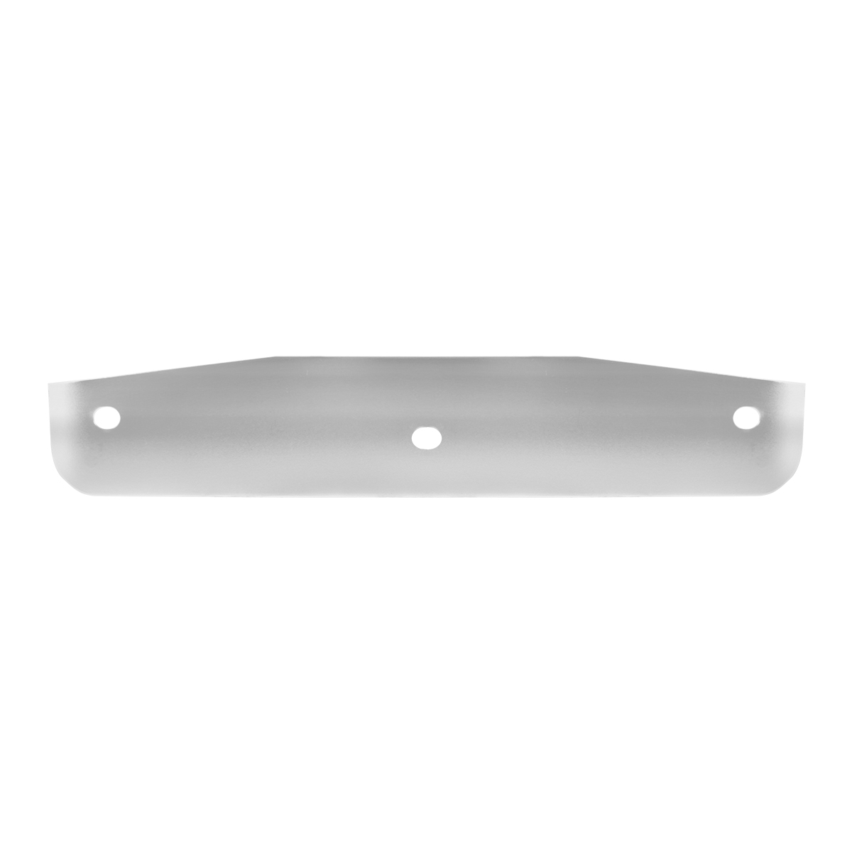 "Backing Plate for Bottom Mudd Flap Plate w/Studs - 16"" (W) x 3"" (H)"
