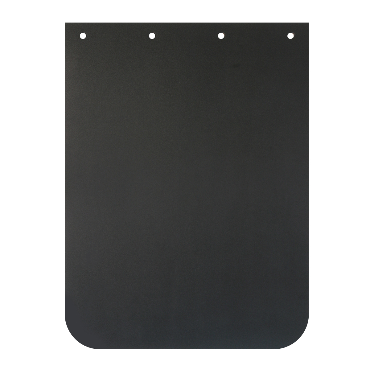 Black Plain Poly Mud Flap – Each