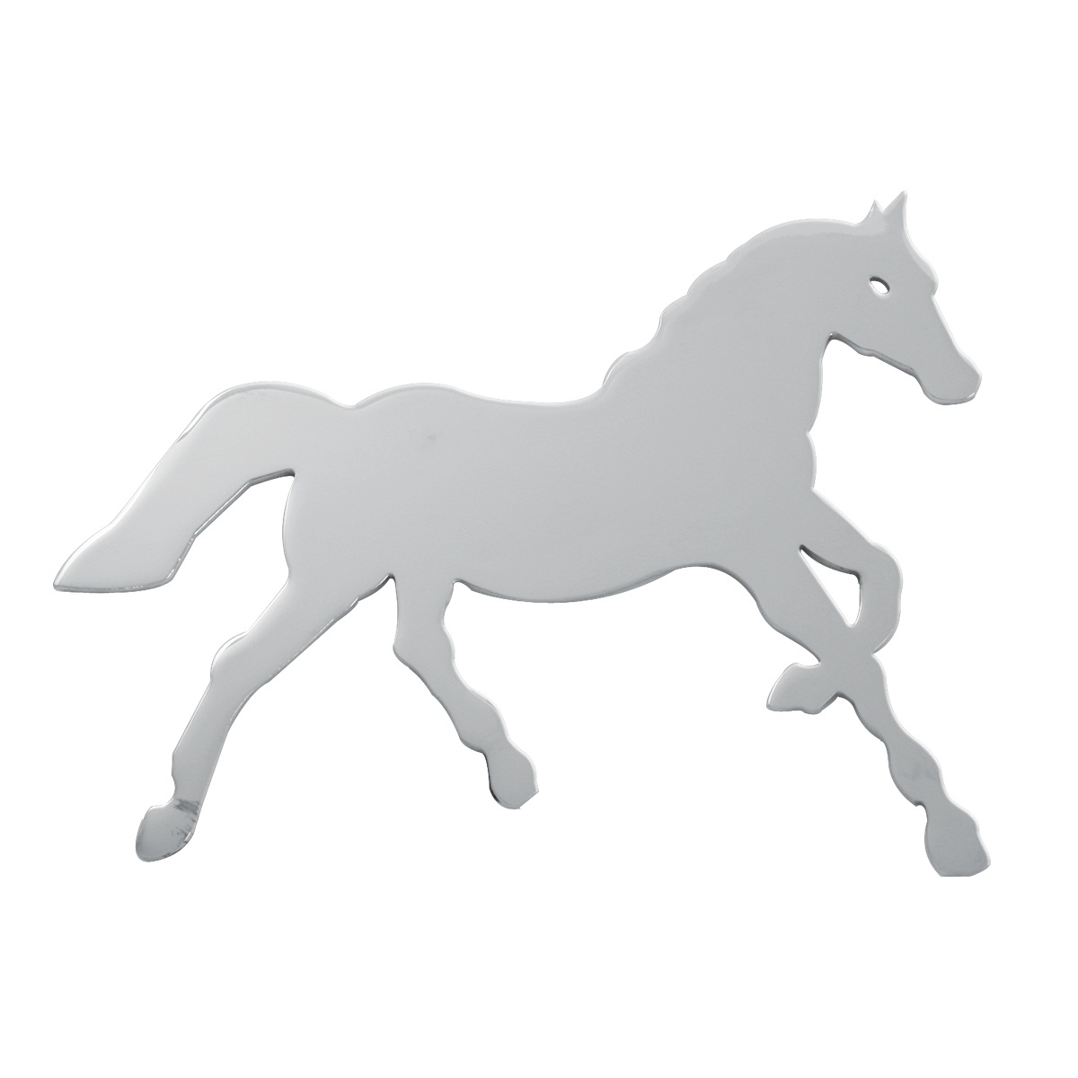 Small Horse Cut Out Facing Right – Studs on Back