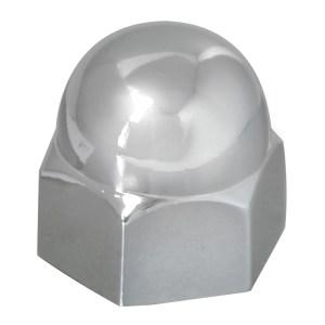 Acorn Zinc Die Cast Push-On Lug Nut Cover