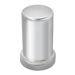 Chrome Plastic 33 mm Screw-On Tube Lug Cover