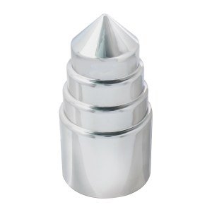 Chrome Plastic 33 mm Screw-On Tower Lug Cover