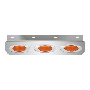 Stainless Steel Lighted Top Plates with Y2K LED Marker Lights