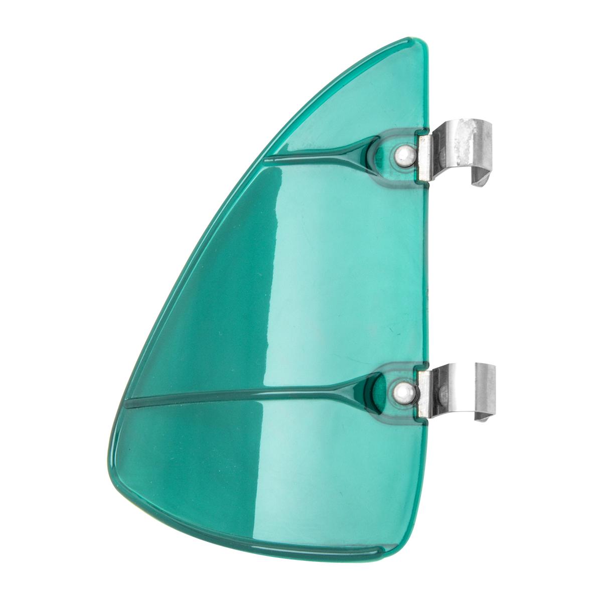 #50153 Acrylic Vent Wind Window Breeze w/ Stainless Steel Clips - Green