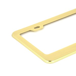 USA Scripted license Plate Frames with 2 Holes