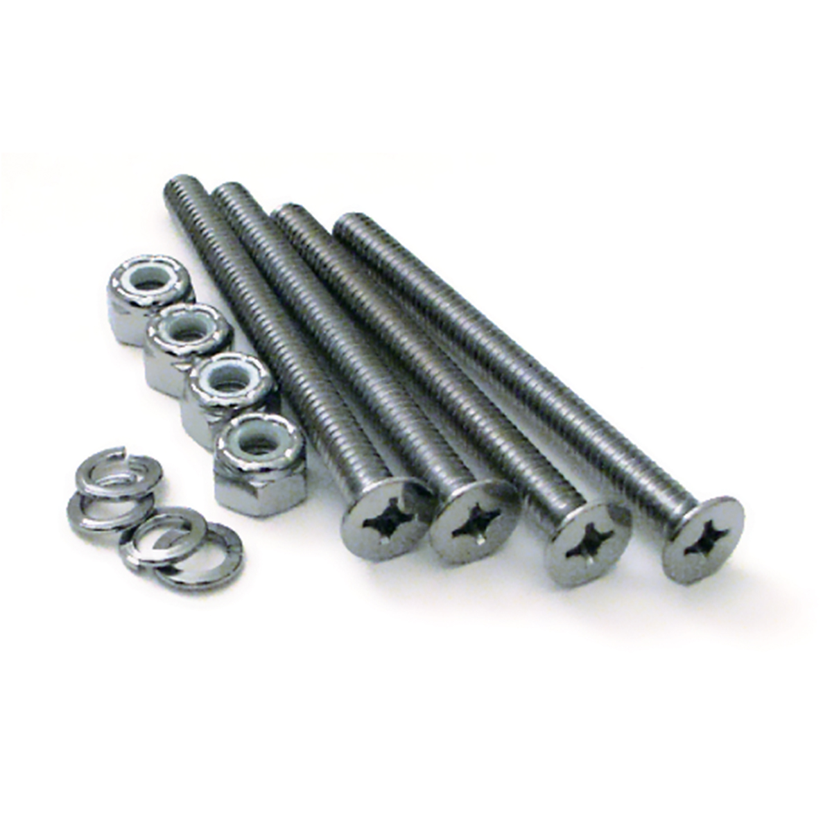 "Train Horn Floor Mount Stand Screw Set – ¼"" dia. x 3"" long"