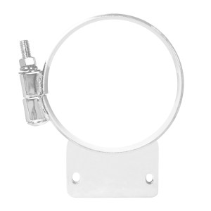 Chrome Cab Mounting Clamps for Peterbilt - Type C