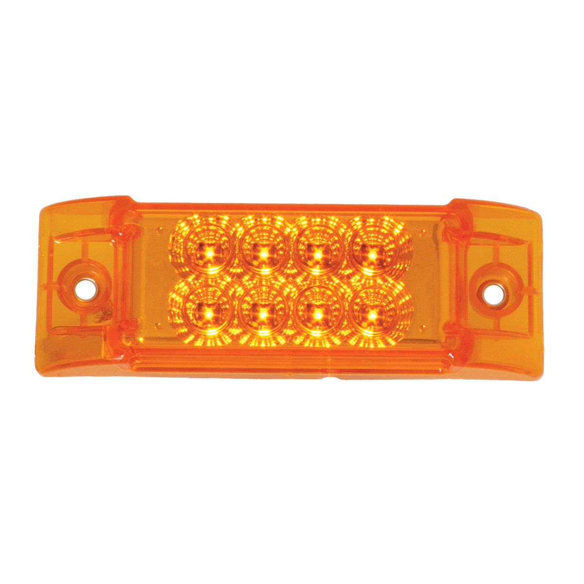 #77660/#77661 Rectangular Spyder 8-LED Marker Light