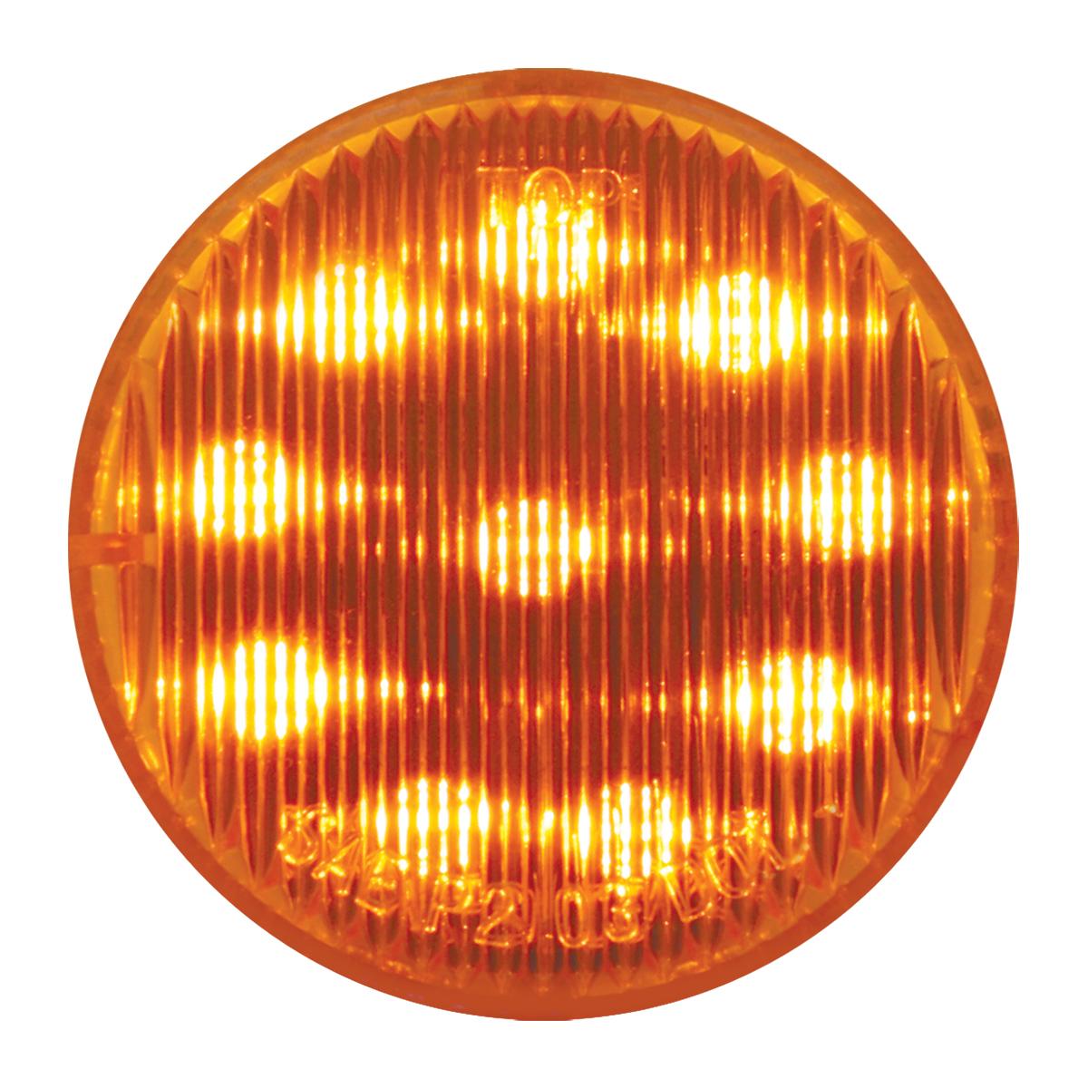 """#79280 2"""" Sealed LED Flat Amber/Amber Light"""