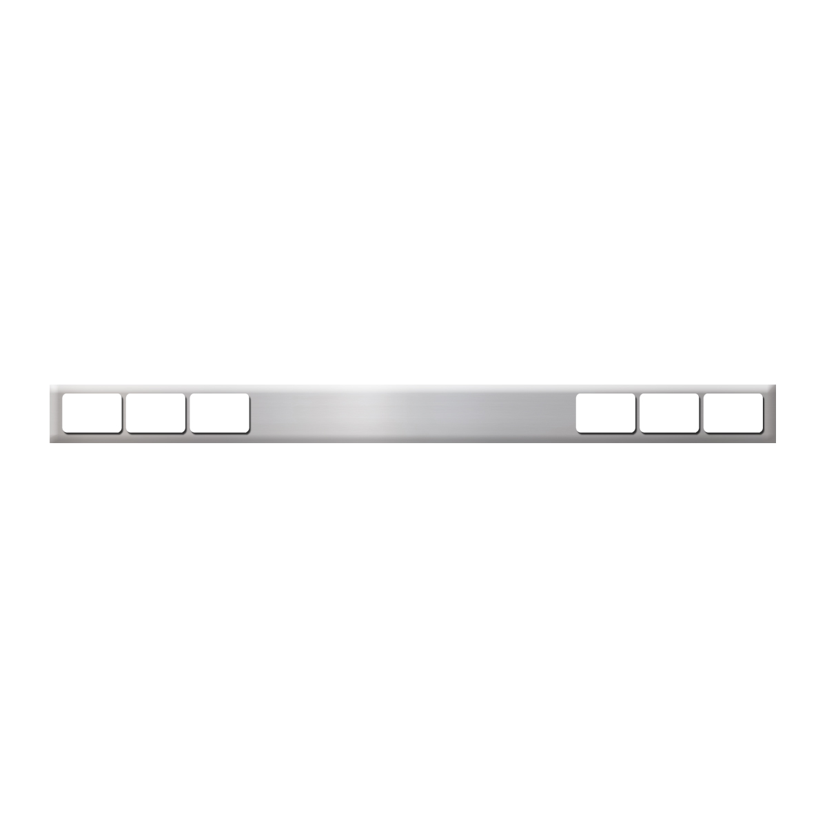 #80132 Stainless Steel Bar Only