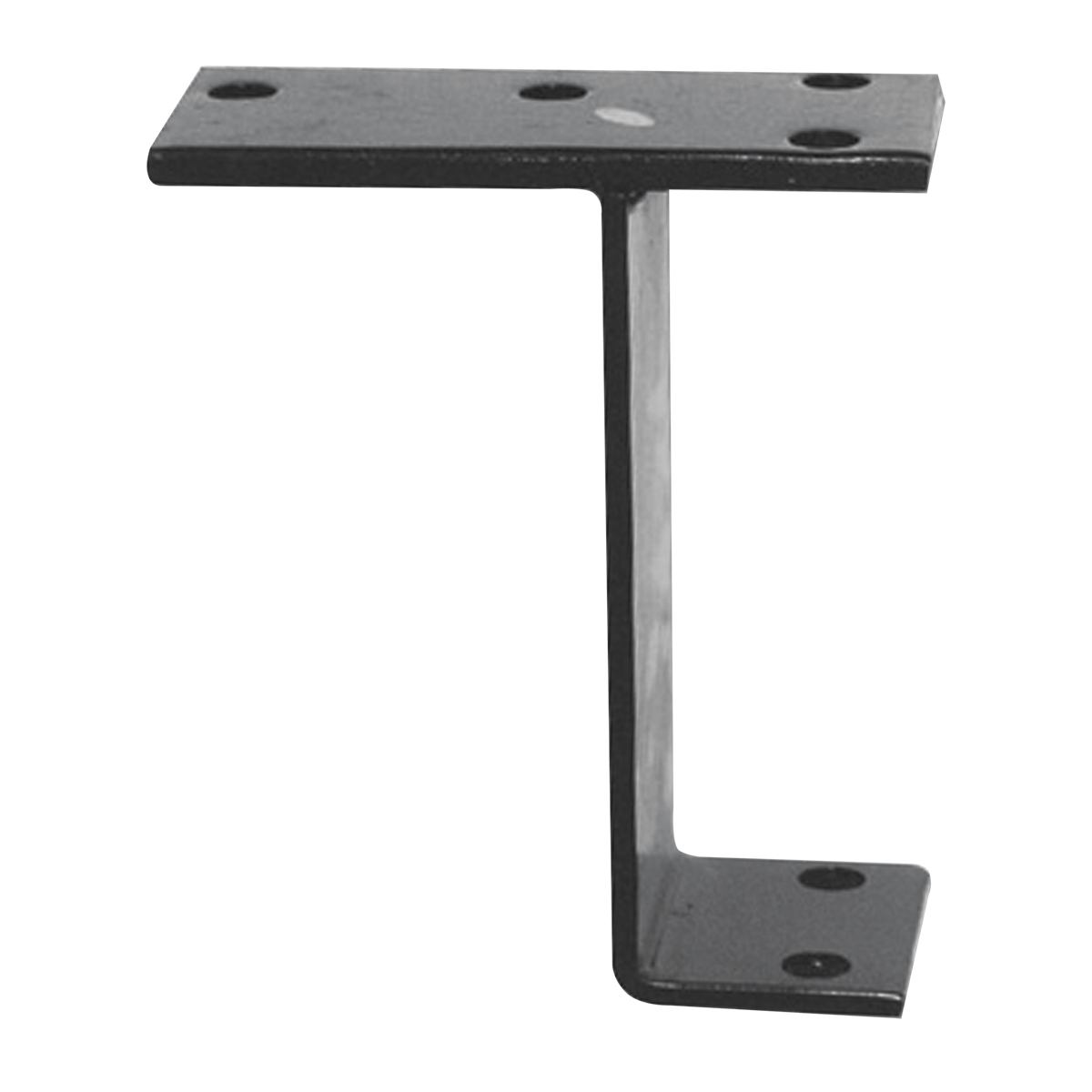 #80140 Black Steel Mounting Bracket
