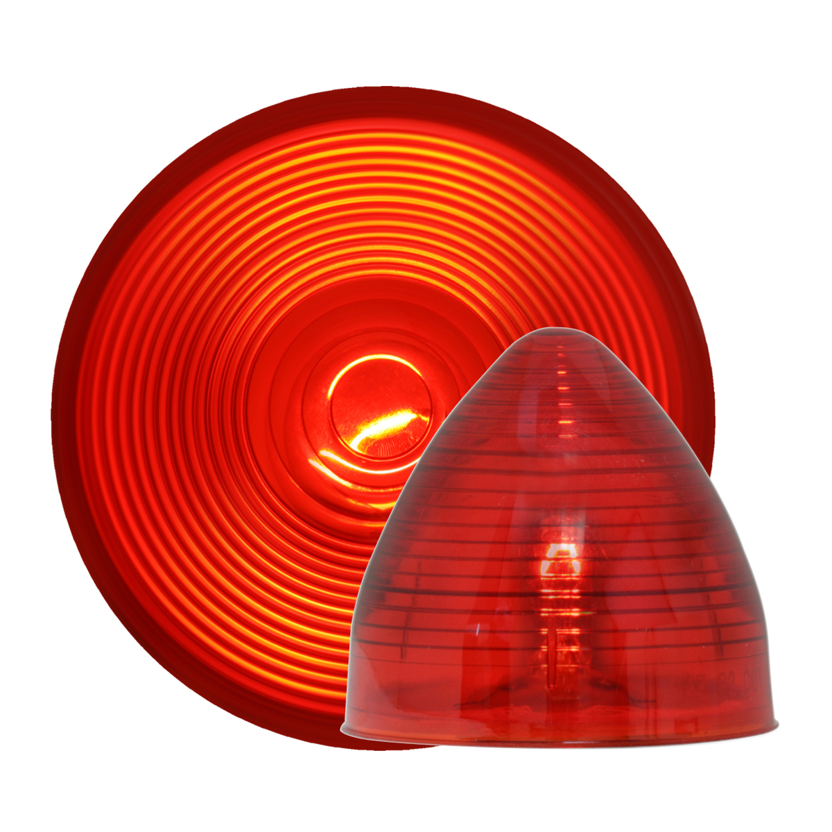 #80471/#82835 Incandescent Beehive - Red/Red