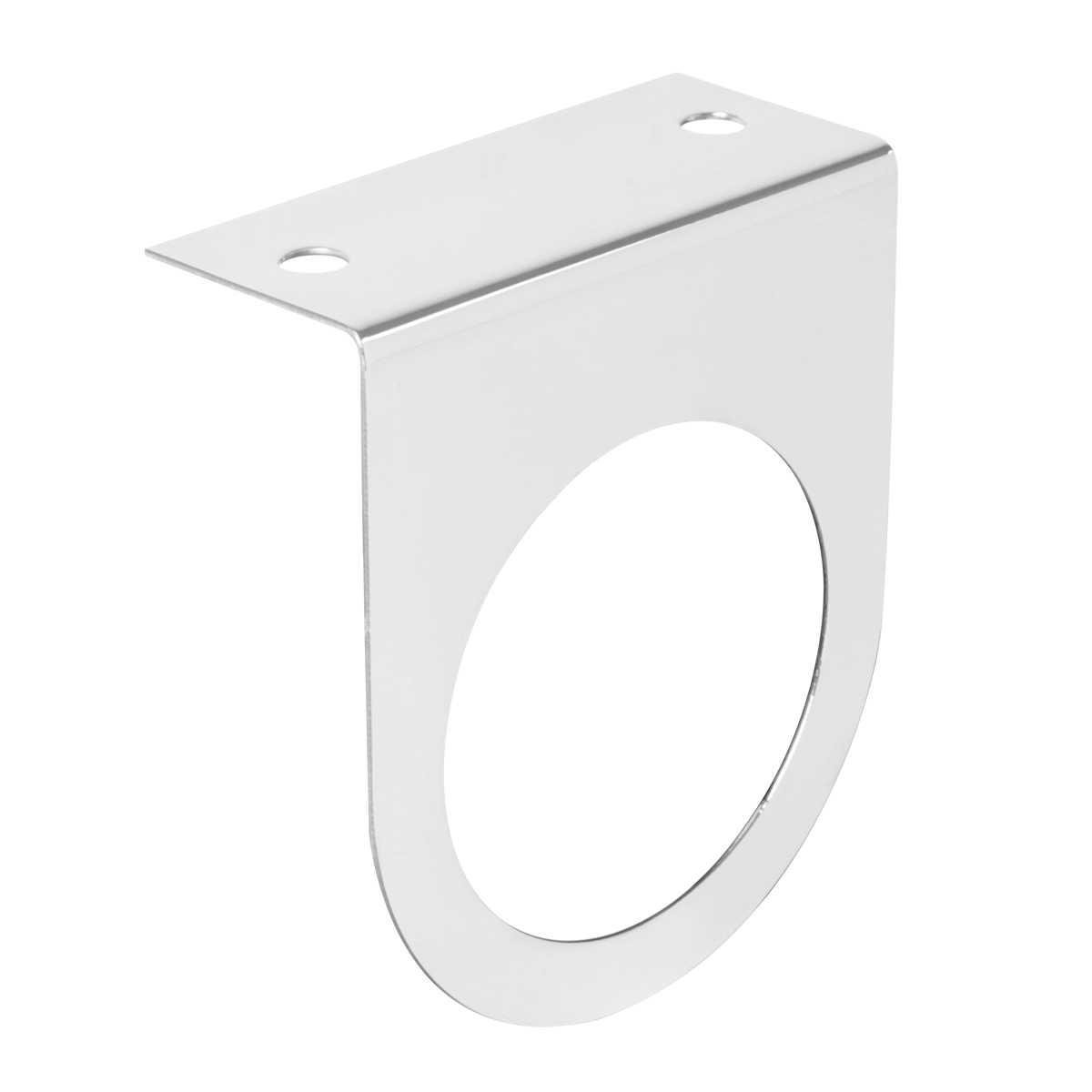 """#81580 Stainless Steel Single Light """"L"""" Shape Mounting Bracket Only"""