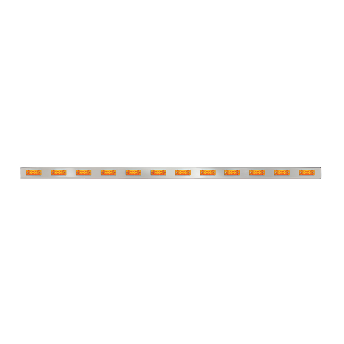 #81720/#81721 Front Bumper Rectangular Spyder 8-LED Marker Light Bar