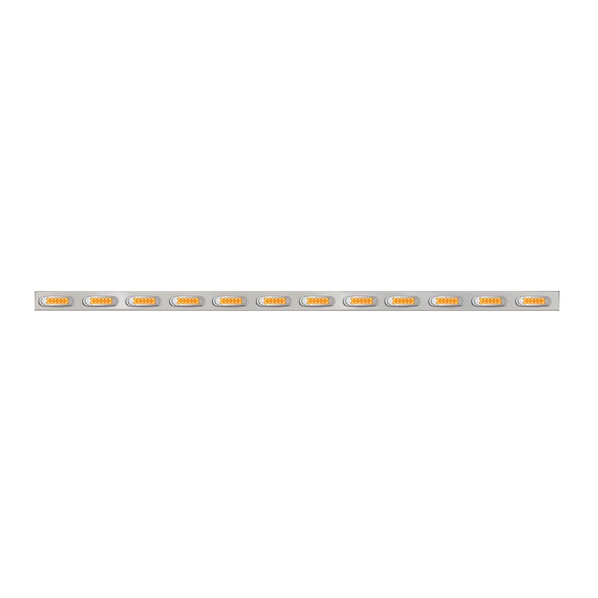 #81722/#81723 Front Bumper Ultra Thin Spyder Y2K 7-LED Marker Light Bar