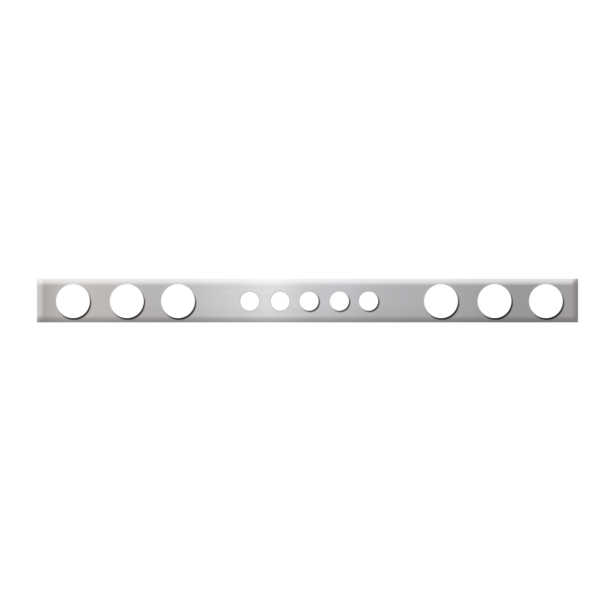 #88009 Chrome Plated Steel Panel Only