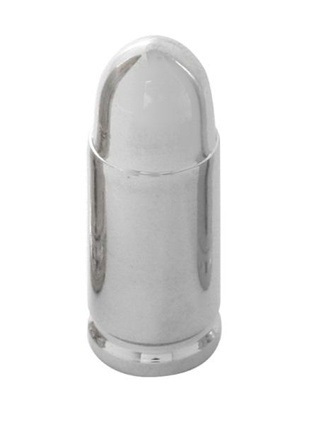 #93323 Short Chrome Aluminum Bullet Shape Valve Stem Cover